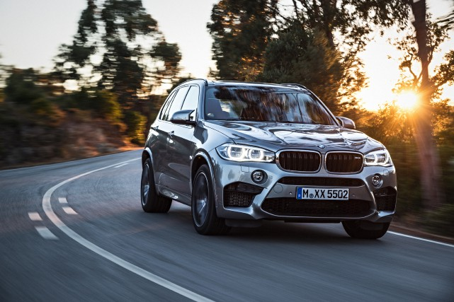 BMW X5 M 2015... (PHOTO FOURNIE PAR BMW)
