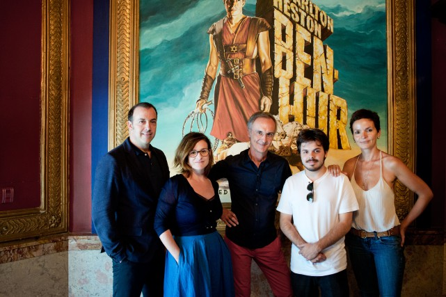 Les ambassadeurs des Journées de la culture :... (PHOTO MARCO CAMPANOZZI, LA PRESSE)