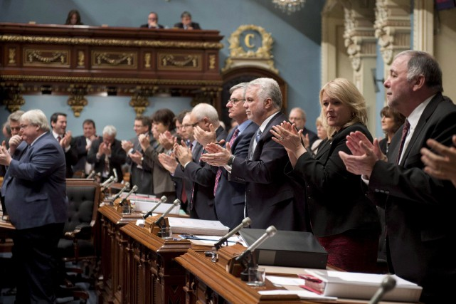 Les partis s'entendent pourrestaurer un peu plus d'ordre... (Archives La Presse Canadienne)