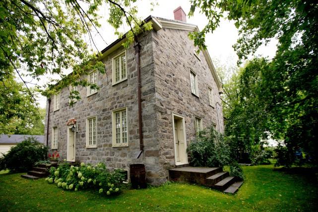 La maison Nathaniel-Douglass, à Saint-Cyprien-de-Napierville.... (PHOTO MARCO CAMPANOZZI, LA PRESSE)