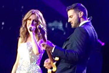 Kaven Girouard accompagne Céline Dion sur les planches... (Photo fournie)