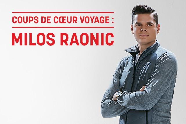 Milos Raonic est le joueur de tennis canadien le mieux classé sur les circuits... (Crédit photo: Gabrielle Sykes)