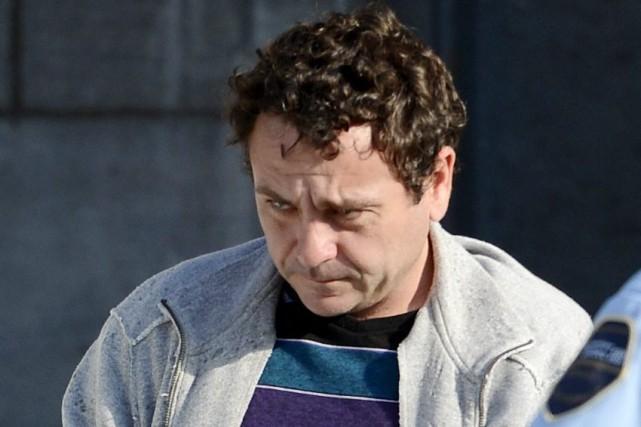 Yves Martin à sa sortie de prison, le... (Jeannot Lévesque)