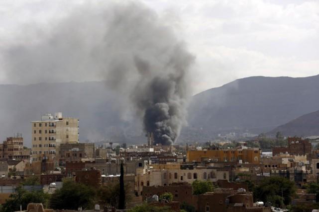 Le conflit au Yémen a fait près de... (Photo Khaled Abdullah, Reuters)
