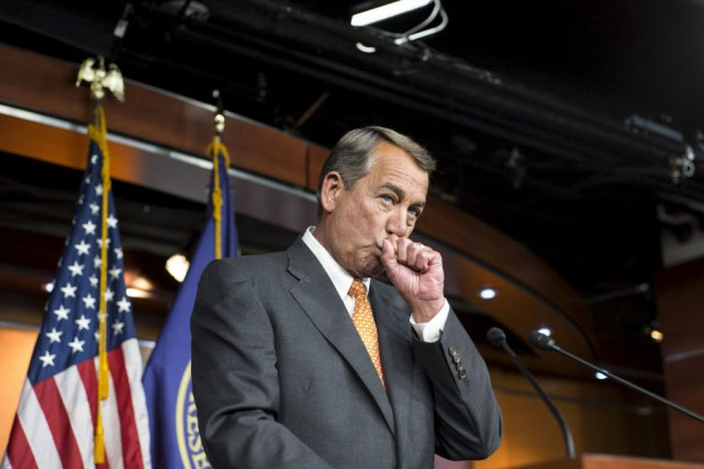 Le président républicain de la Chambre des représentants,... (Photo Joshua Roberts, Reuters)
