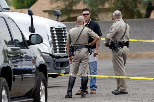 Les autorités disent n'avoir pour l'instant aucune piste... (Photo Matt York, AP)