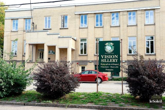 Discrète et inattendue, la fermeture de l'École Vision... (Le Soleil, Erick Labbé)