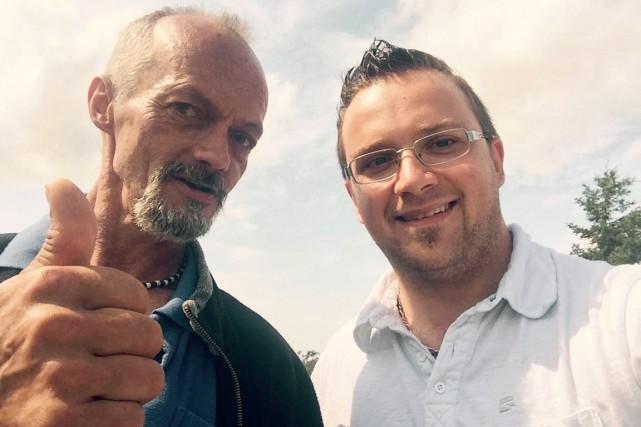 Le 27 juillet, le candidat du NPD Joël... (PHOTO TIRÉE DE FACEBOOK)