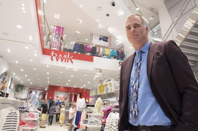 Peter Simons,président de La Maison Simons... (Photo Jacques Boissinot, archives PC)