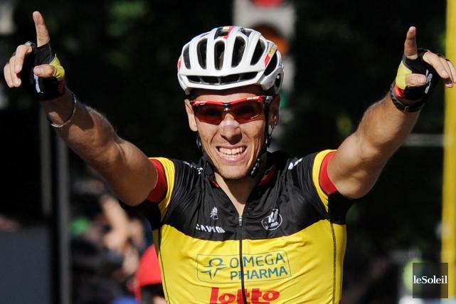Champion à Québec en 2011, Philippe Gilbert revient... (Le Soleil, Erick Labbé)