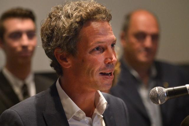 Le candidat du Bloc québécois dans Québec Charles... (PHOTO YAN DOUBLET, ARCHIVES LE SOLEIL)