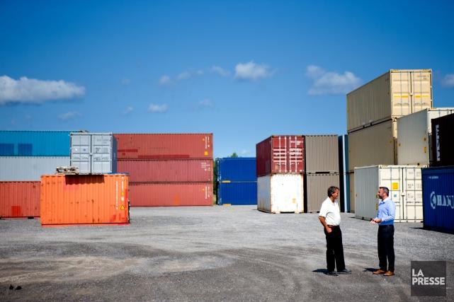 Le déficit du commerce de marchandises du Canada... (PHOTO MARCO CAMPANOZZI, LA PRESSE)