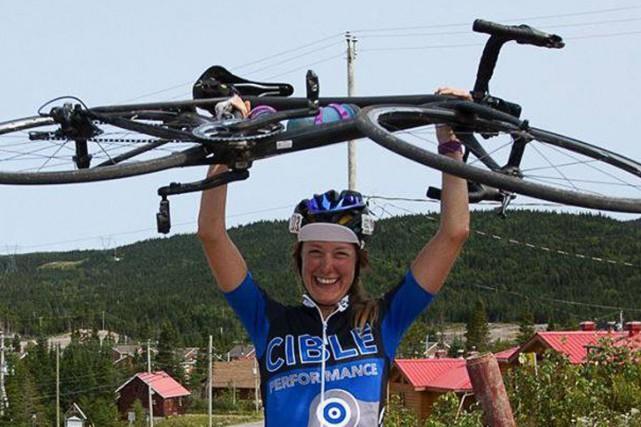 Jessica Bélisle a découvert le vélo il y... (Photo: Ultradéfi1000)