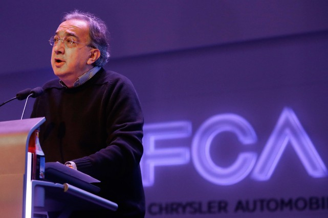 Sergio Marchionne, grand patron de Fiat Chrysler Automobiles, souhaite... (PHOTO CARLOS OSORIO, ARCHIVES ASSOCIATED PRESS)