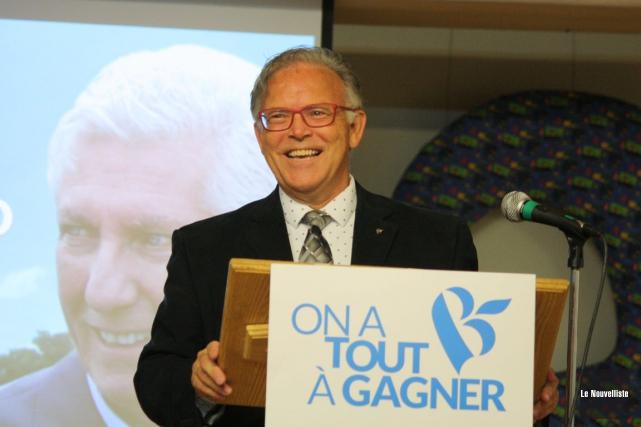 Le candidat du Bloc québécois dans Trois-Rivières, André... (Photo: Gabriel Delisle, Le Nouvelliste)