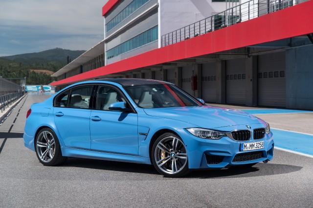 La prochaine BMW M3... (Photo fournie par le constructeur)