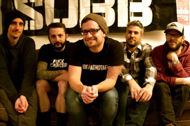 Subb, groupe phare du ska-punk du tournant du... (Courtoisie Marilyse Boulais)