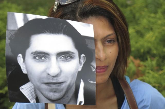 Ensaf Haidar, épouse de Raif Badawi...