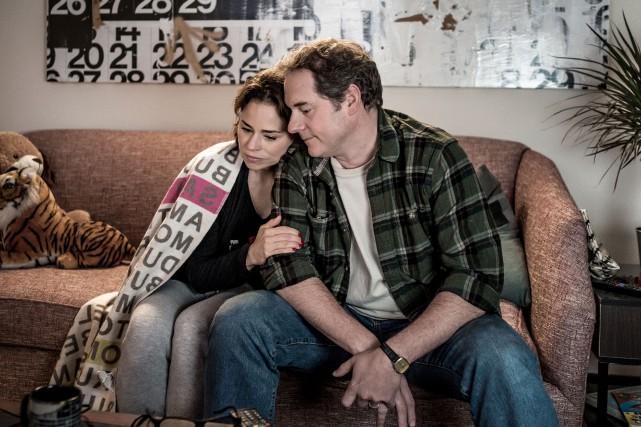 Suzanne Clément et Paul Doucet dans une scène... (Photo fournie par le FNC)