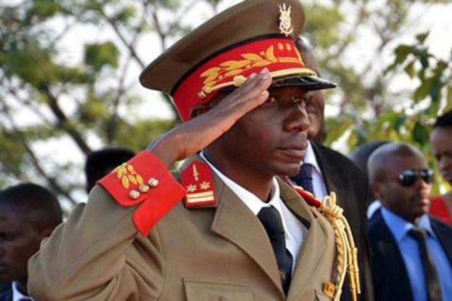 Le général Nyongabo est considéré comme un dur... (PHOTO TIRÉE DE TWITTER)