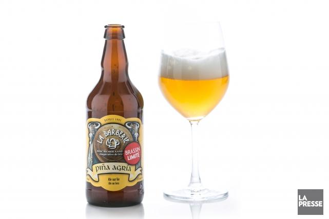Faire surir le moût d'une bière, voilà qui n'est pas banal. C'est l'idée qu'a... (Photo Hugo-Sébastien Aubert, La Presse)