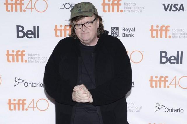 Michael Moore à la première de son dernier... (PHOTO AP)