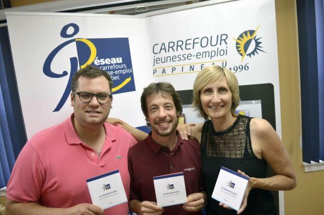 Roland Frenette (au centre) a témoigné jeudi de... (Benoit Sabourin, LeDroit)