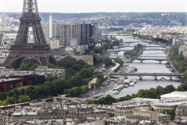 La ville de Paris.... (Photo Reuters)