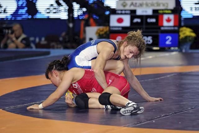 Une seule lutteuse a vaincue Geneviève Morrison à... (Courtoisie, Lutte Canada)
