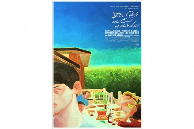 Xavier Dolan a dévoilé hier l'affiche de son prochain film, Juste la fin du...
