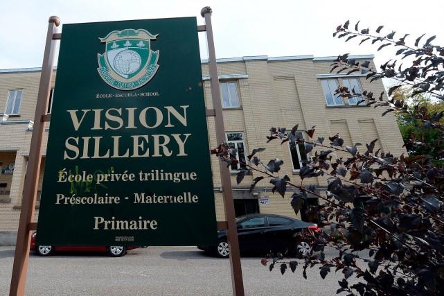 L'École Vision de Sillery n'avait qu'une soixantaine d'enfants... (Le Soleil, Erick Labbé)