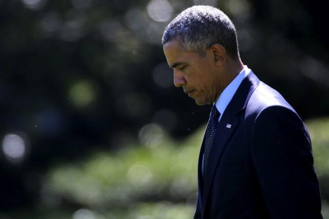 Le président américain, Barack Obama.... (Photo Jonathan Ernst, Reuters)