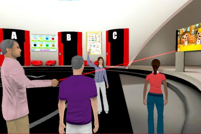 Une image tirée du site du campus virtuel...