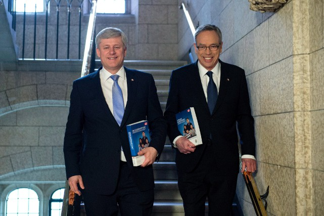 « Le gouvernement de Stephen Harper [qu'on voit ici... (Photo Justin Tang, archives La Presse Canadienne)