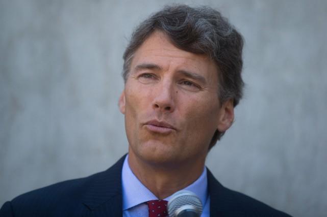 Le maire de Vancouver Gregor Robertson... (Photo Darryl Dyck, PC)