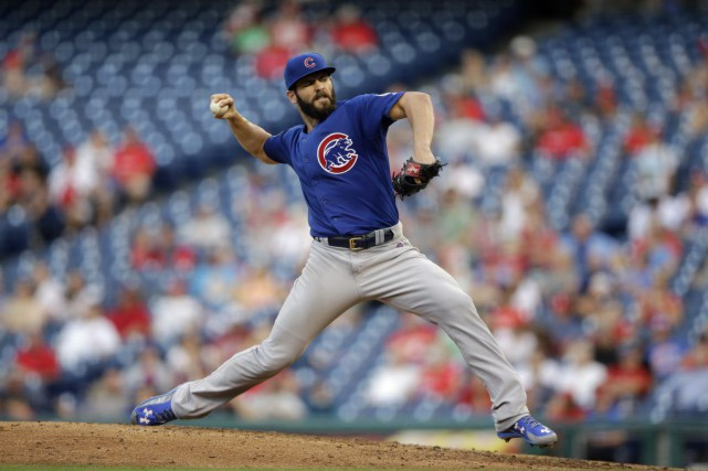 Jake Arrieta... (Photo Matt Slocum, AP)