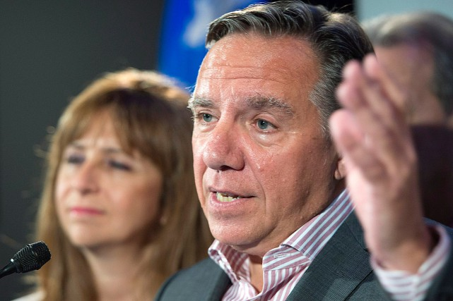 François Legault, chef de la CAQ.... (Photo Jacques Boissinot, archives PC)