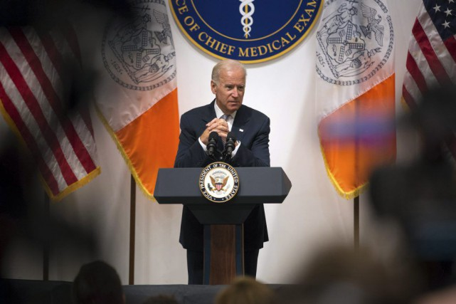Joe Biden... (Photo Kevin Hagen, AP)