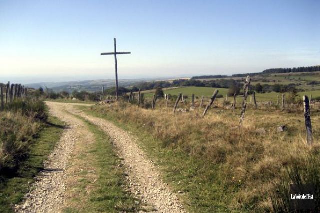 Le chemin de Saint-Jacques-de-Compostelle, en Espagne.... (Photo d'archives, La Voix de l'Est)