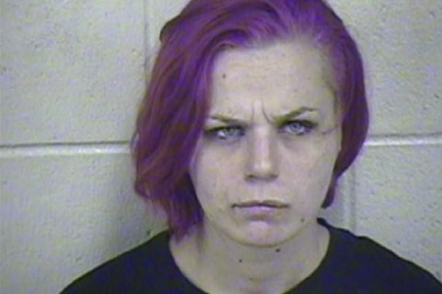 La femme de 24 ans a été accusée... (Photo AP)
