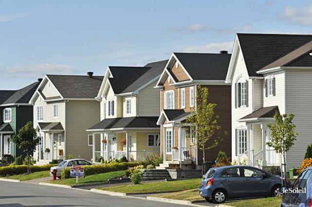 Les ventes de propriétés ont monté de 2... (Photothèque Le Soleil, Steve Deschênes)