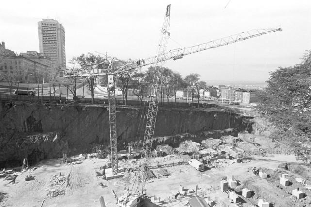 On souligne souvent combien les travaux majeurs du début des années 70 ont... (Photo BAnQ, E10,SS4, SS1, D71, Jules Rochon)