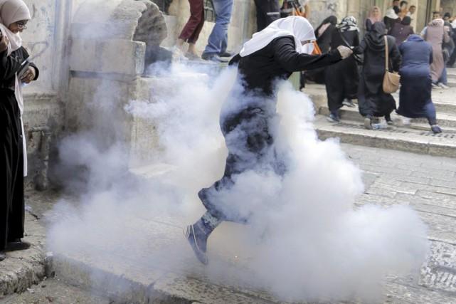 Depuis plusieurs jours, Palestiniens et Arabes Israéliens assuraient... (PHOTO AMMAR AWAD, REUTERS)