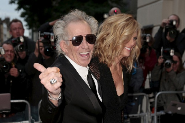 Keith Richards... (Photo Suzanne Plunkett, Reuters)