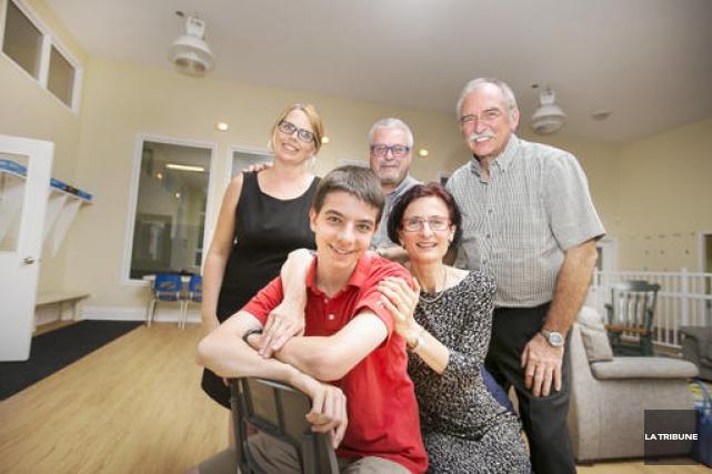 La famille Giroux-Giangioppi est présidente d'honneur du tour... (IMACOM, Jocelyn Riendeau)