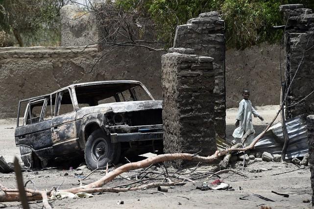 Les attaques de Kolofata portent à neuf le... (PHOTO PHILIPPE DESMAZES, AFP)