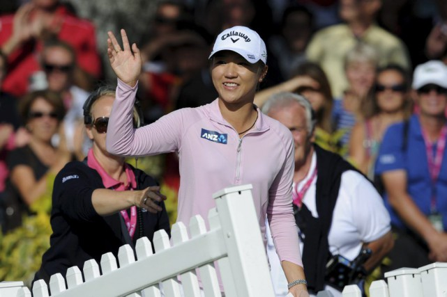 Lydia Ko... (PHOTO JEAN-PIERRE CLATOT, AFP)