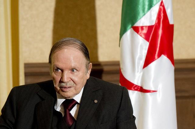 Le président algérien Abdelaziz Bouteflika.... (PHOTO ALAIN JOCARD, ARCHIVES AFP)
