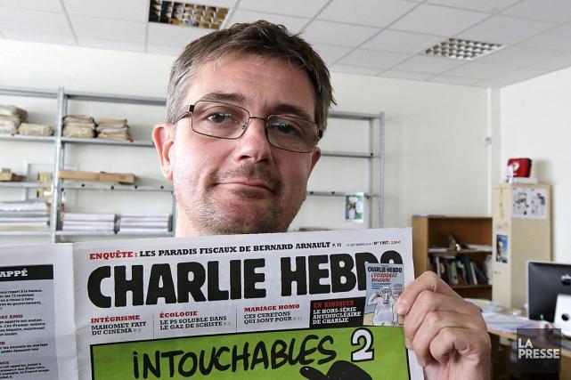 L'ex-directeur de Charlie Hebdo, Stéphane Charbonnier (Charb), a... (Photo Michel Euler, archives AP)