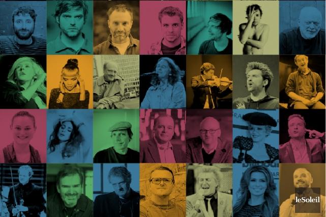 Théâtre, humour, cinéma, disques... l'automne promet d'être chargé! (Infographie Le Soleil)